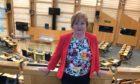 Maureen Watt in the Scottish Parliament.