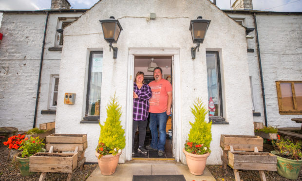 Frank Mckie and Eileen Keay have had to close the Chapelhill Inn in Logiealmond.