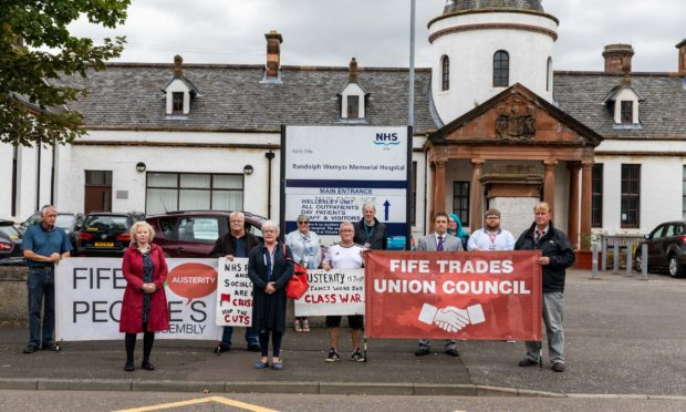 A protest against the closure was held on Tuesday.