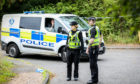 Police sealed off an area of Whitehill Industrial Estate in Glenrothes following the discovery of human remains.