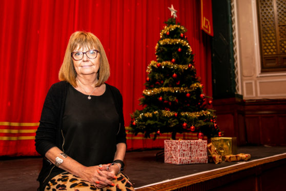 Verdi Clark of Carnegie Hall is gearing up for Christmas.