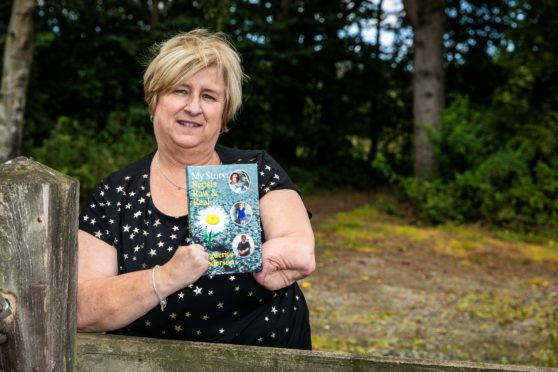 Marguerite Henderson has written her book about her journey from papercut to sepsis to having to have her feet and hands removed.