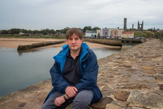 St Andrews Harbour Trust chairman Dr Andrew Whiston said the harbour has an huge untapped potential.
