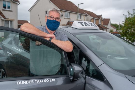 Graeme Stephen, chairman of Dundee Taxi Association