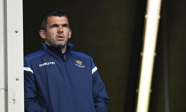 Saints boss Callum Davidson.