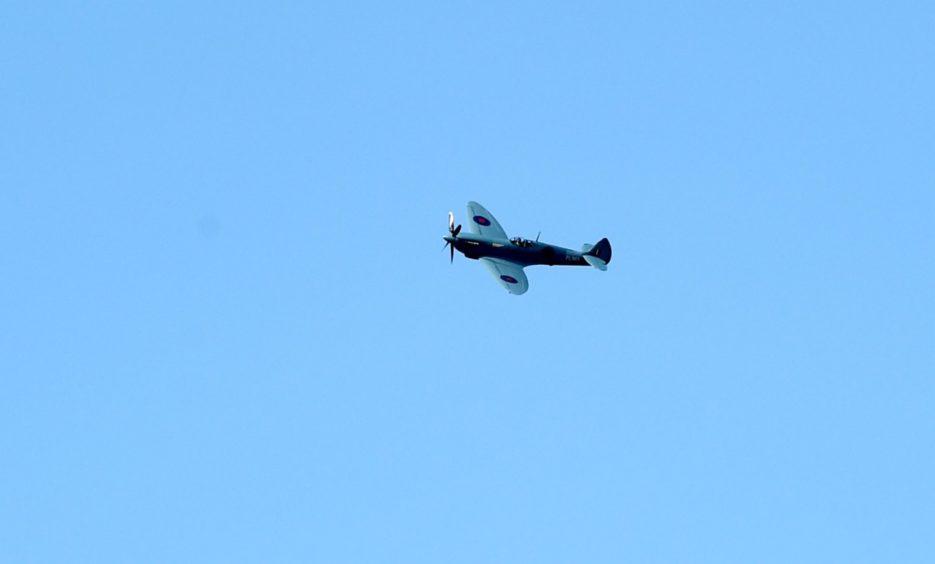 The Spitfire in Aberdeen.