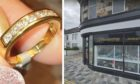 The diamond ring was stolen from G Masterton Jewellers.