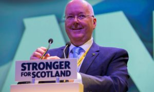 SNP chief executive Peter Murrell.