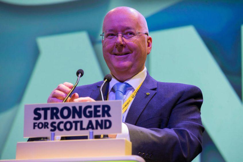 SNP chief executive Peter Murrell.