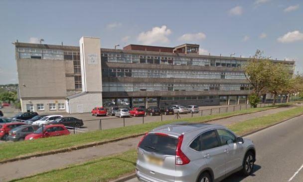 St Columbas RC High School, Dunfermline.
