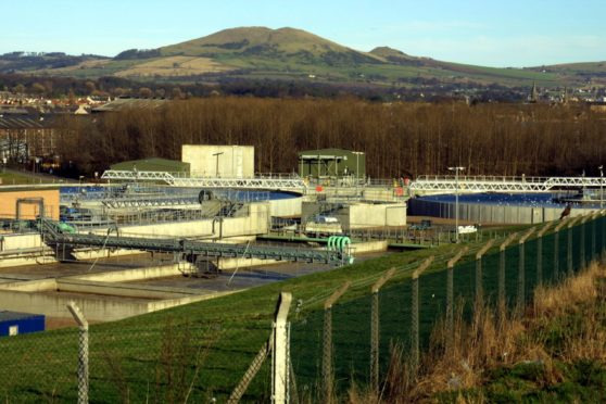 Levenmouth Wastewater Treatment Works.