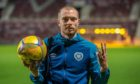 Craig Wighton after scoring hat-trick for Hearts against Raith Rovers in Betfred Cup.