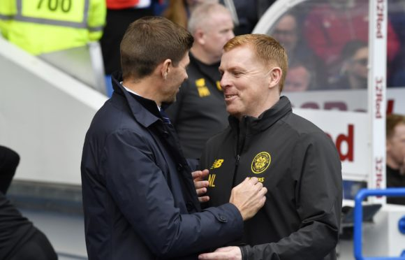 Steven Gerrard and Neil Lennon have led their respective sides into the Europa League group stages.