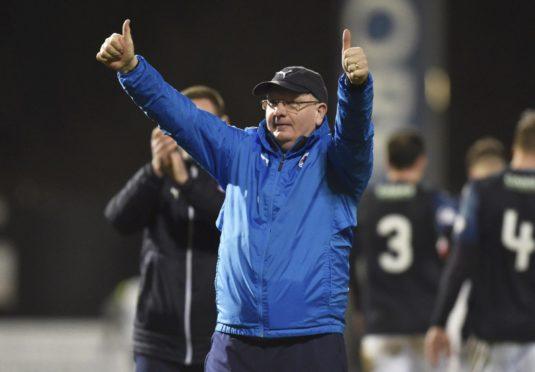 John McGlynn will miss the weekend's game.