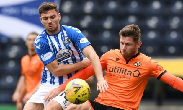 Dundee United midfield man Calum Butcher missed the St Johnstone clash on Saturday.