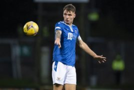 St Johnstone captain Jason Kerr back for Celtic clash, and Murray Davidson might be too