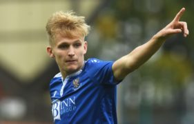 Ali McCann will be a better player for his Northern Ireland experience, says St Johnstone boss Callum Davidson