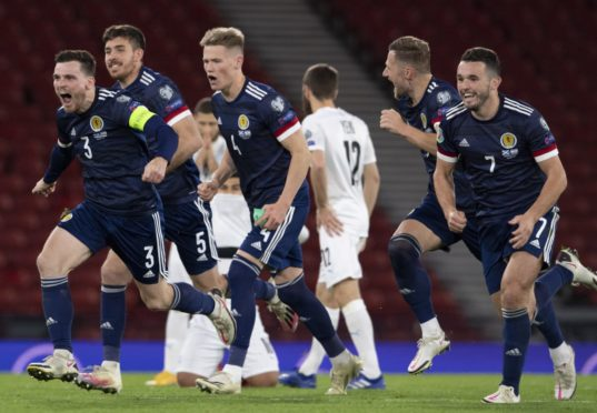 Scotland overcame Israel on penalties at Hampden.
