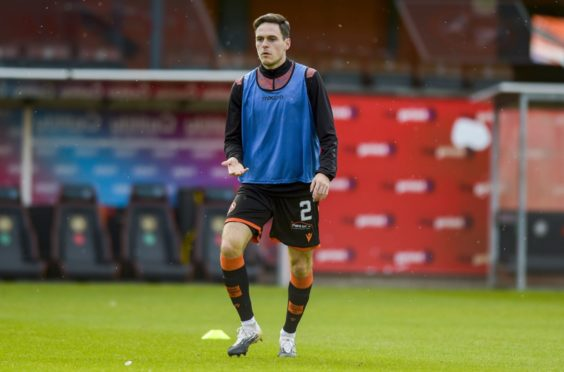 Liam Smith pictured at Tannadice on Saturday.