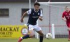 Osman Sow made his Dundee debut at Brora Rangers.