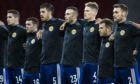 Aberdeen and Scotland defender Andy Considine (No 23).