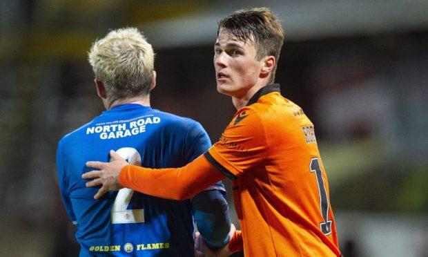 Dundee United defender Jamie Robson.