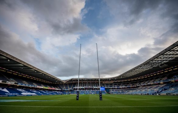 BT Murrayfield will see the Scotland-Wales game played behind closed doors.