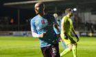 Craig Wighton celebrates after scoring against his former club.