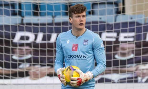 Calum Ferrie made his first league start in two years for Dundee against Morton.