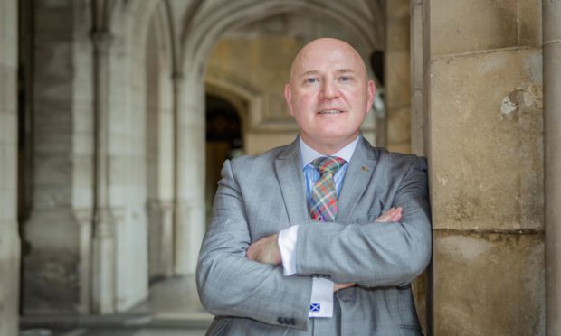 Neale Hanvey MP.