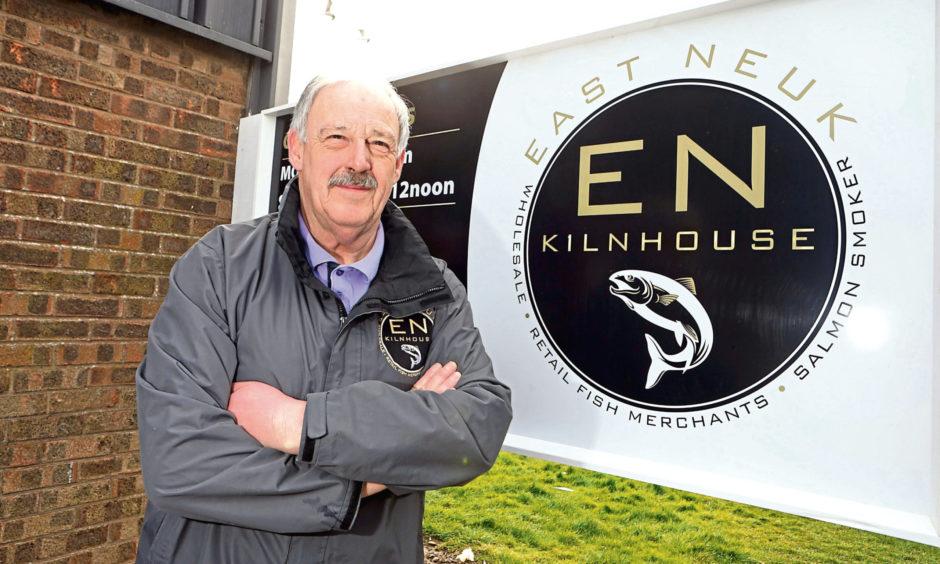 East Neuk Kiln House  director Colin Reekie.