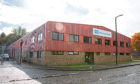 The Atlas Copco base in Dundee.