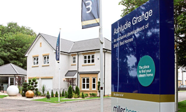 A Miller Homes development in Angus.