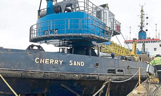The Cherry Sand.