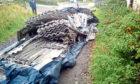 Asbestos waste was dumped on land belonging to John Jamieson.