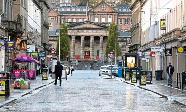Services in Dundee are to be scaled back from Boxing Day