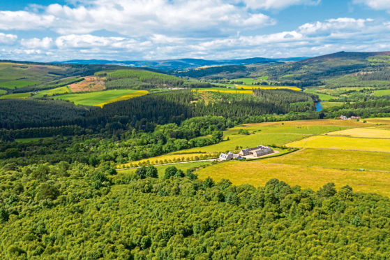 PROPERTY: Mains of Tilliefoure at Monymusk, which is on the market at offers over £900,000.