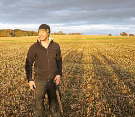 APPLIANCE OF SCIENCE: Ben Barron is experimenting to reduce fertiliser application while maintaining yields.