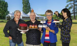 Paul Hollywood, Matt Lucas, Prue Leith and Noel Fielding.