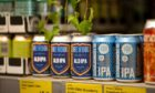 To go with story by Clare Johnston. Aldi/BrewDog collaboration Picture shows; ALD IPA beer produced by BrewDog for Aldi. Unknown. Courtesy Aldi/BrewDog handout Date; Unknown