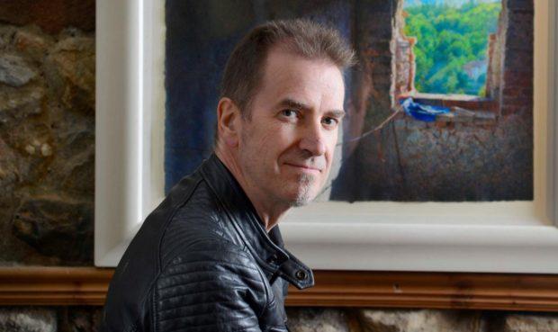 Artist Angus McEwan.