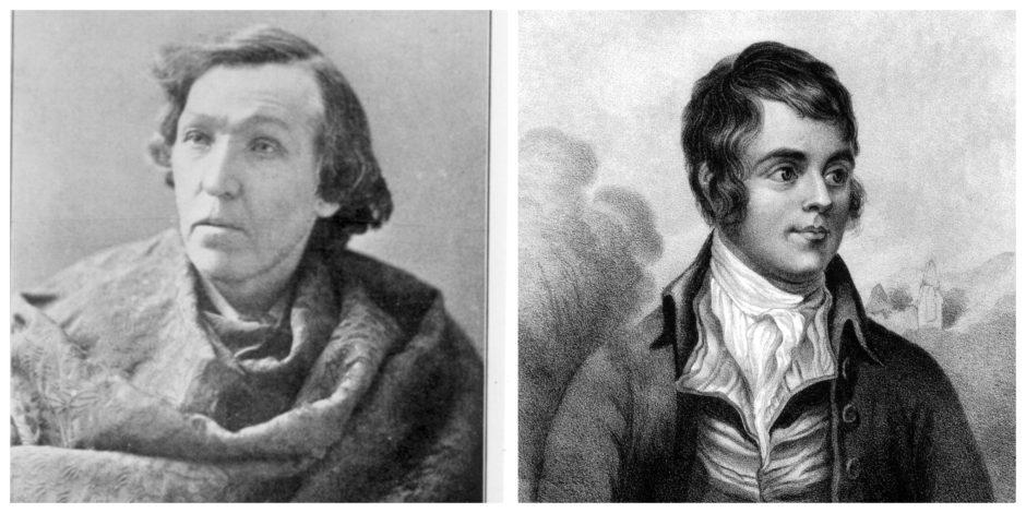 William McGonagall and Robert Burns.