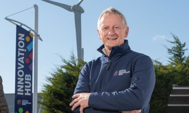 Greig Coull, chief executive of Michelin Scotland Innovation Parc.