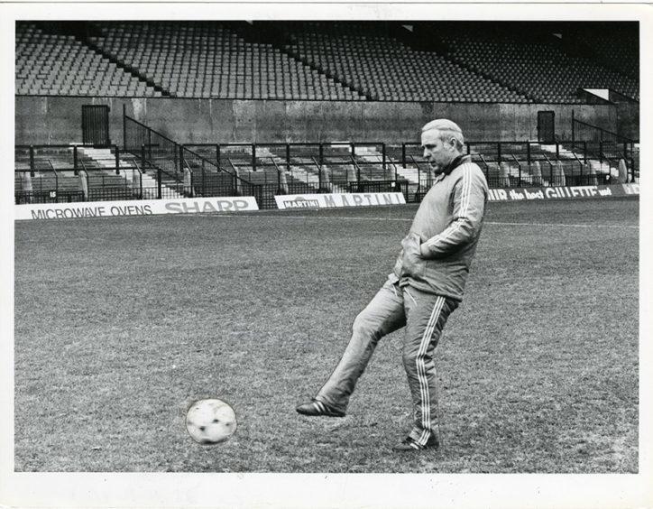 Jim McLean in 1984