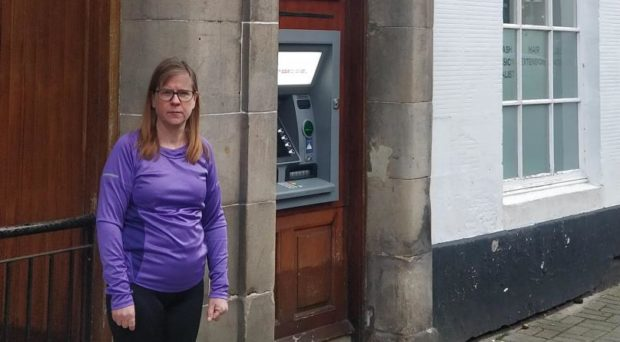 Councillor Margaret Kennedy calling for new 'marketplace' approach to banking.