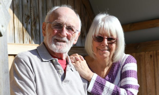 John Cubin, age 81 and his wife Nancy, age 71.