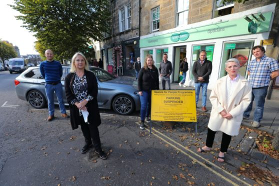 Business owners unhappy with St Andrews parking measures.