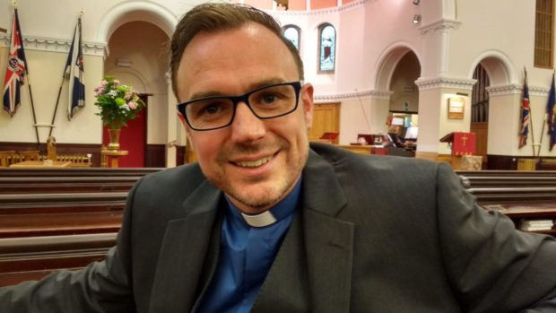 Douglas Creighton is being inducted into East Neuk Trinity linked with St Monans on Friday.
