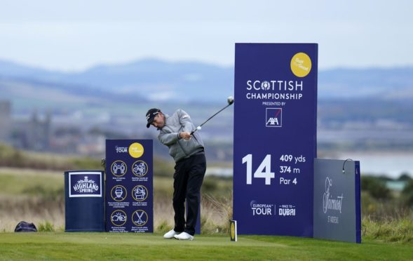 Padraig Harrington has been driving it well this week at Fairmont St Andrews.