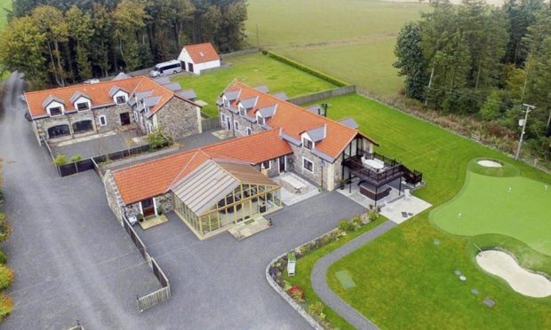Plans have been submitted for a new 'micro-resort' at Hawkswood Country Estate.